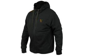 Fox Collection Sherpa Hoody Black/Orange