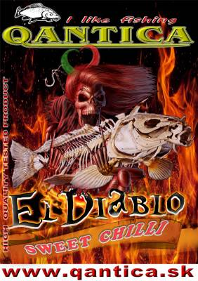 Q Method Feeder Pasta 1kg El diablo chilli