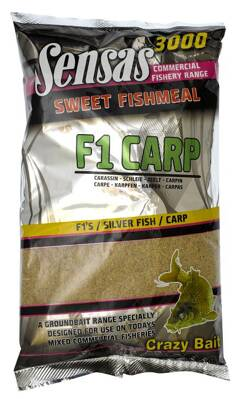 Krmivo 3000 Sweet Fishmeal UK F1 CARP 1kg