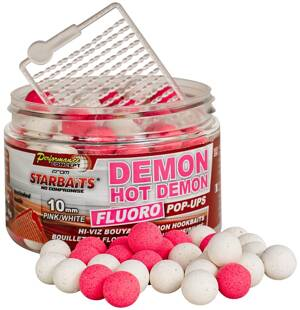 Hot Demon - Boilie FLUO plovoucí 60g 10mm