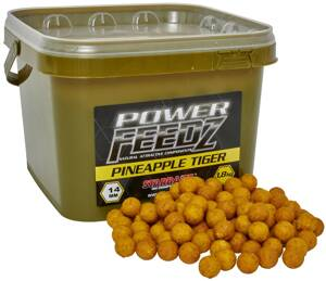 Boilies Power FEEDZ Pineapple Tiger 14mm 1,8kg