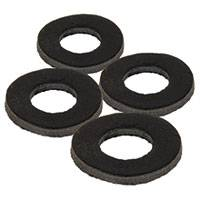Black Label Leather Washers
