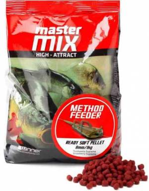 Method Feeder Ready Soft Pellet 8mm/1kg mäkké pelety